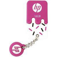 Pen Drive Hp Mini V178P, 16Gb, Usb 2.0, Rosa - Hpfd178P-16