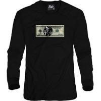 Casaco Moletom Skull Clothing Dollar 2Pac Masculino - Masculino
