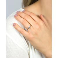 Anel Solitário De Ouro 18K Diamante 30 Pontos