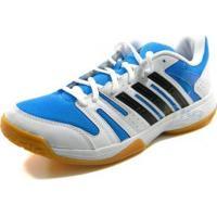 Tenis Adidas Voleibol Ligra Bco/Azl/Pto - Adidas