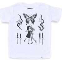 Flashes Tattoo - Camiseta Clássica Infantil