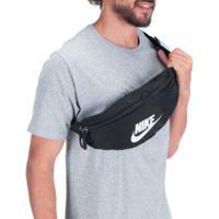 Pochete Nike Heritage Hip Pack - Preto/Branco