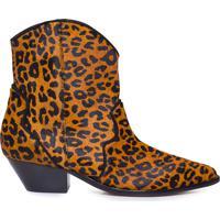 Bota Feminina Wild Leopardo - Animal Print