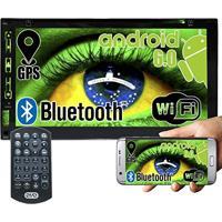 Dvd Automotivo 2 Din 7.0 Exbom D760Bt Wifi Android 6.0 Espelhamento Bluetooth Gps