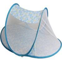Mosquiteiro Berço Portátil Infantil Para Bebê Azul