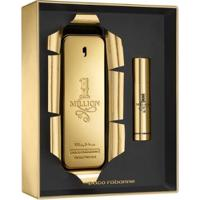 Kit 1 Perfume Masculino Paco Rabanne 1 Million Edt 100Ml + 1 Perfume Travel Size 10Ml - Unissex-Incolor