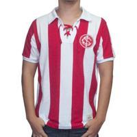 Camisa Retrô Mania Internacional 1909 Masculina - Masculino-Vermelho