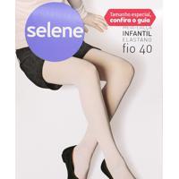 Meia-Calça Infantil Rosa - Selene - P