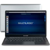 Notebook Multilaser Legacy Book Intel Celeron 4Gb 500Gb 14.1 Hd Linux Cinza