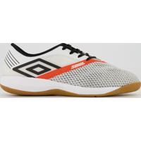 Chuteira Umbro Soul Pro Futsal Branca E Preta