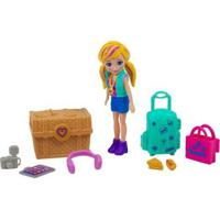 Boneca Polly Pocket Kit De Viagem - Unissex-Incolor