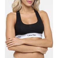Top Calvin Klein Sem Bojo - Feminino-Preto