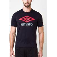 Camiseta Umbro Twr Alive Preta