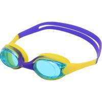 Óculos De Natação Oxer Block - Infantil - Azul/Amarelo