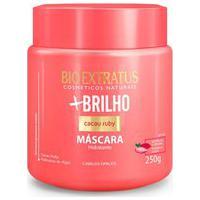 Máscara Hidratante Para Cabelo Bio Extratus + Brilho Com 250G 250G