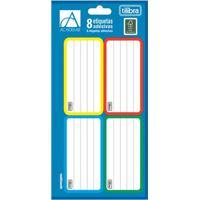 Etiqueta Adesiva Escolar Tilibra Academie Color Com 8 Unidades