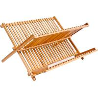 Escorredor De Louça Interdesign Bambu 42X33X27Cm - 30412