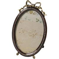 Porta-Retrato De Metal Decorativo Specchio Com Pedras