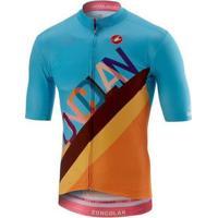 Camisa Castelli Giro D'Itália Zocolan - Masculino