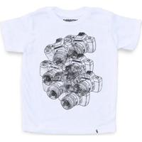 Cameras - Camiseta Clássica Infantil