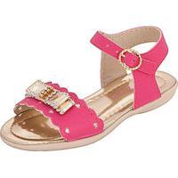Sandália Bebê Plis Calçados Coração Feminina - Feminino-Pink