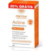 Sabonete Facial Em Barra Antiacne Darrow Actine 80G