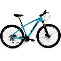 Bicicleta Aro 29 Ksw 24V Câmbios Shimano Freio Hidráulico Susp. Trava No Ombro - Unissex