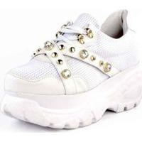 Tênis Sneaker Buffallo Chunky Pedrarias Feminino - Feminino