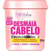 Desmaia Cabelo 950G Máscara Ultra Hidratante Forever Liss - Feminino-Incolor