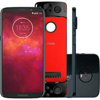 Smartphone Motorola Moto Z3 Play Gamepad Edition 64Gb Xt1929 Índigo