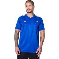 Camisa Masculina Adidas Cruzeiro 1 Azul/Branco - P