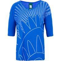 Camiseta Licenciados Copa Do Mundo Traços Azul