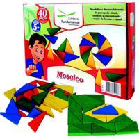 Mosaico - Caixa C 40 Pecas - Fundamental - Tricae
