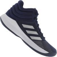 Tênis Adidas Pro Spark 2018 - Masculino - Azul Escuro