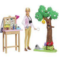 Barbie National Geographic Cuidadora De Borboletas - Mattel