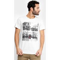 Camiseta Burn London 1930 Masculina - Masculino-Mescla