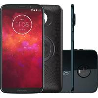 Smartphone Motorola Moto Z3 Play Stereo Speaker Edition 64Gb Xt1929 Índigo