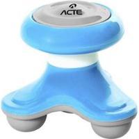 Mini Massageador Corporal Acte T150 - Unissex-Azul