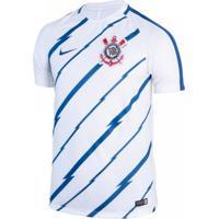 Camiseta Nike Corinthians Dry Squad Top Masculina 674f330638cea