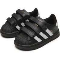 Tênis Adidas Originals Menino Superstar Cf I Preto