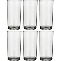 Conjunto De 6 Copos Cylinder Transparente