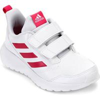 Tênis Infantil Adidas Altarun Cf K Velcro - Unissex-Branco