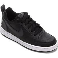 Tênis Infantil Nike Court Borough Low Sl Gs - Masculino-Preto