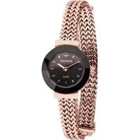 Relógio Technos Mini Feminino - Feminino-Bronze
