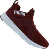 Tênis Puma Enzo Weave Bdp - Masculino - Vinho/Branco