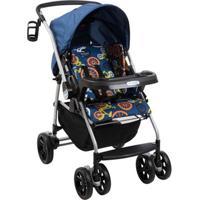Carrinho De Bebê At6 K-Bike Azul Burigotto