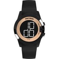 Relógio Feminino Mormaii Luau Mo13001A/8J - Unissex-Preto