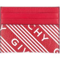 Givenchy Porta-Cartões Com Estampa De Logo - Vermelho
