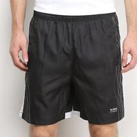 Shorts Gajang Fitness Listras Bolsos Masculino - Masculino-Preto