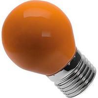 Lâmpada Bolinha G45 Laranja Bivolt 6W - Lm282 - Luminatti - Luminatti